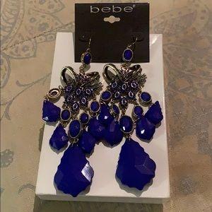 Bebe statement earrings NWT
